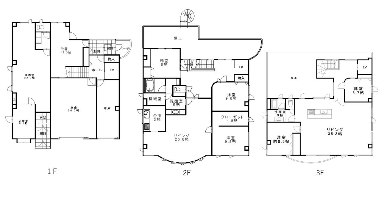 旭川市緑町20丁目 3068番,既存住宅,緑町20丁目,1566